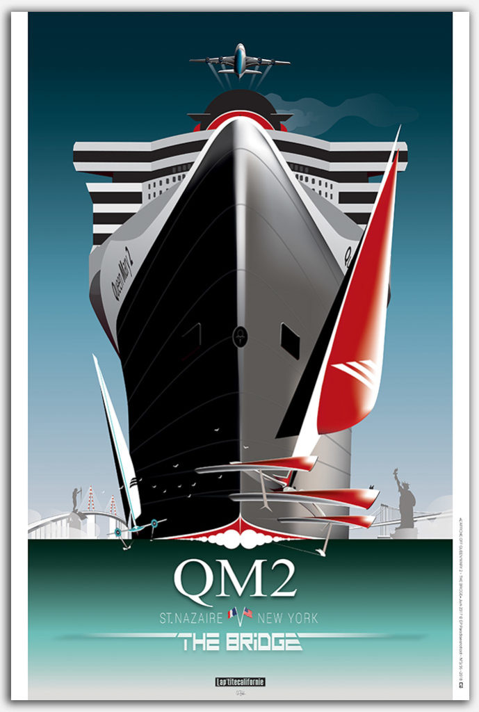 QUEEN MARY 2 – THE BRIDGE L'AFFICHE OFF