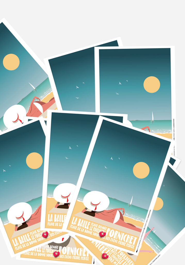 4 CARTES BAULOISEMENT