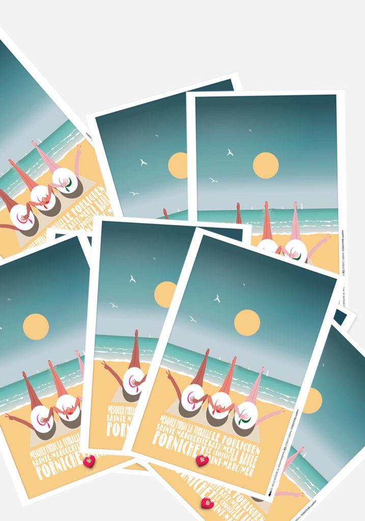 4 CARTES HAPPY BAULOISES