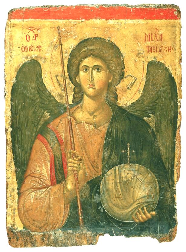 Saint-MICHEL Icône byzantine du IVX