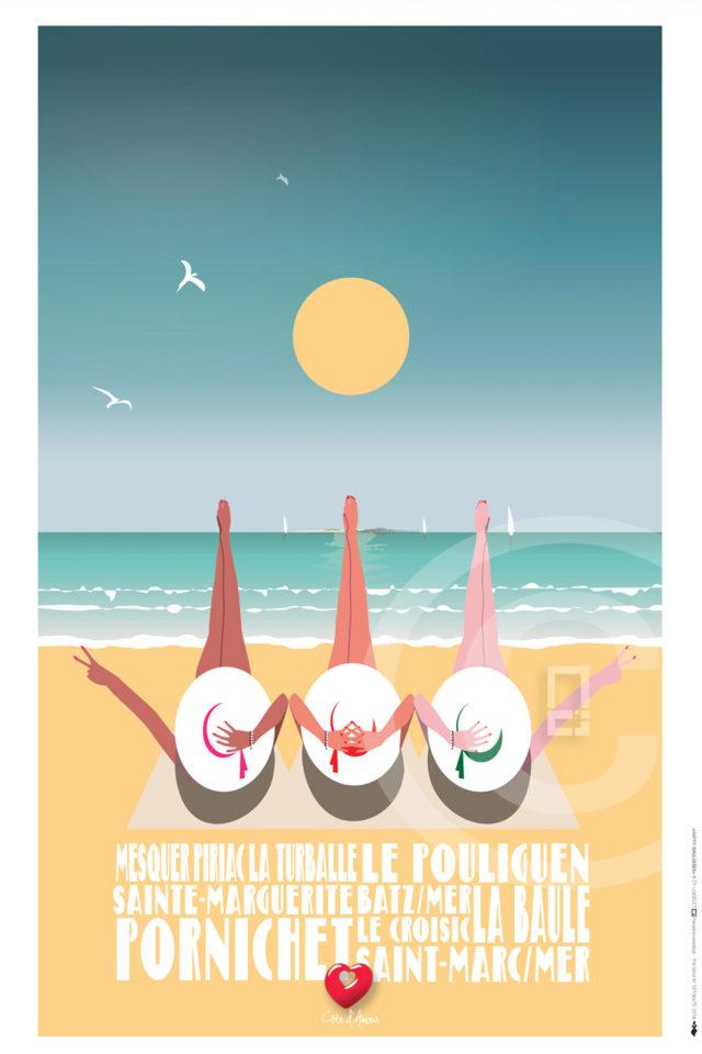 Affiche HAPPY BAULOISES