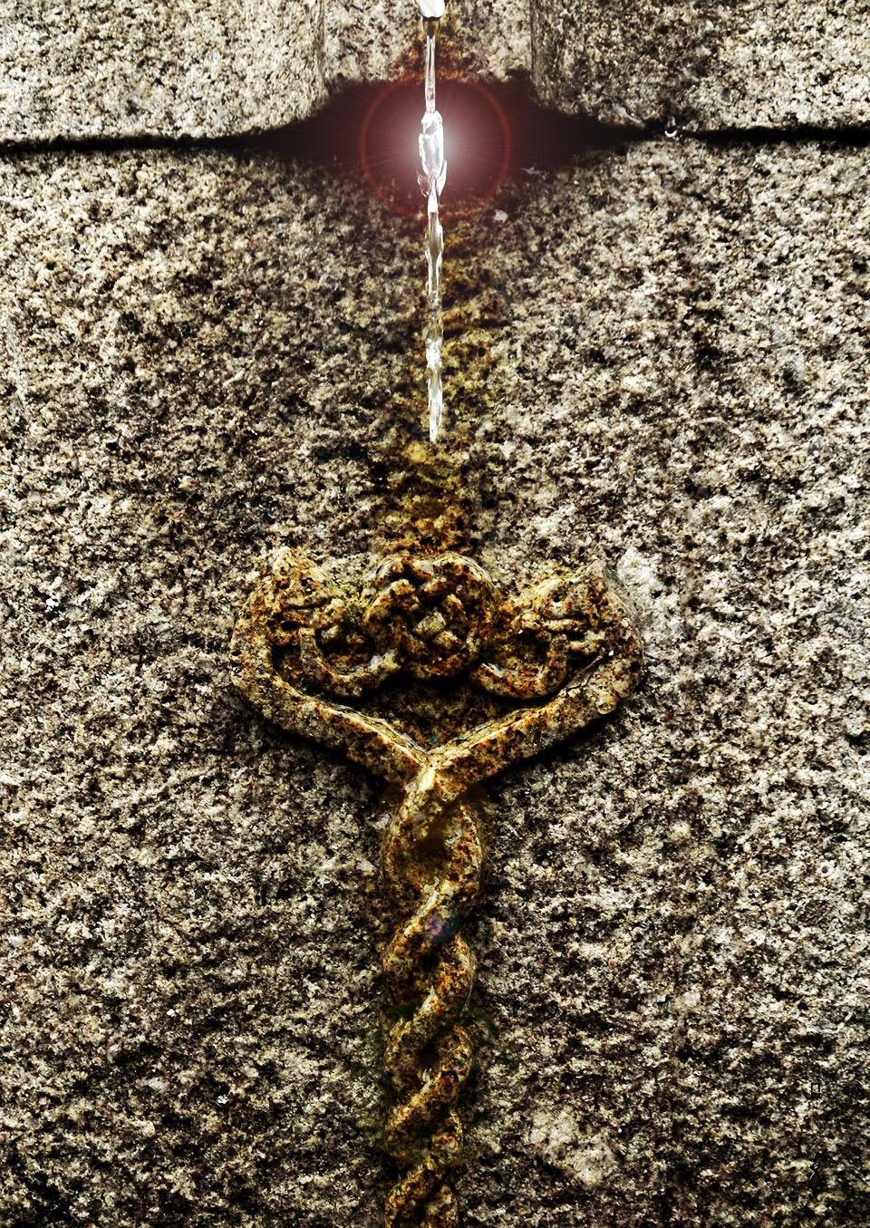 L'eau guérisseuse - Monastère orthodoxe celtique - Morbihan