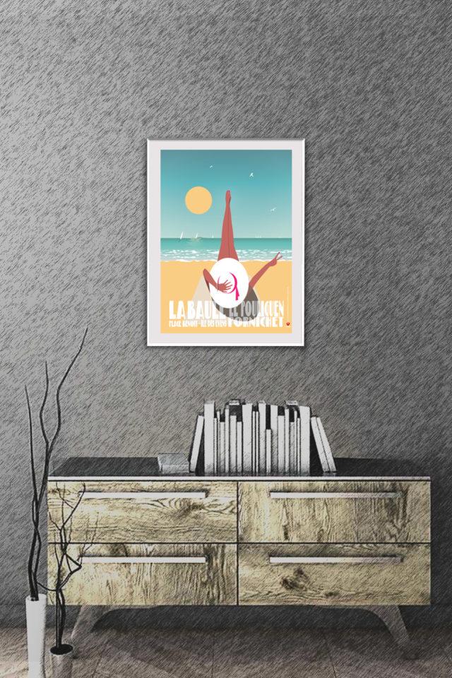 Affiche HAPPY BAULOISE
