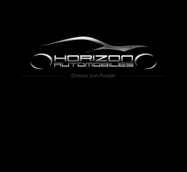 Création Logo Horizon Automobiles - Agence Hors Lignes