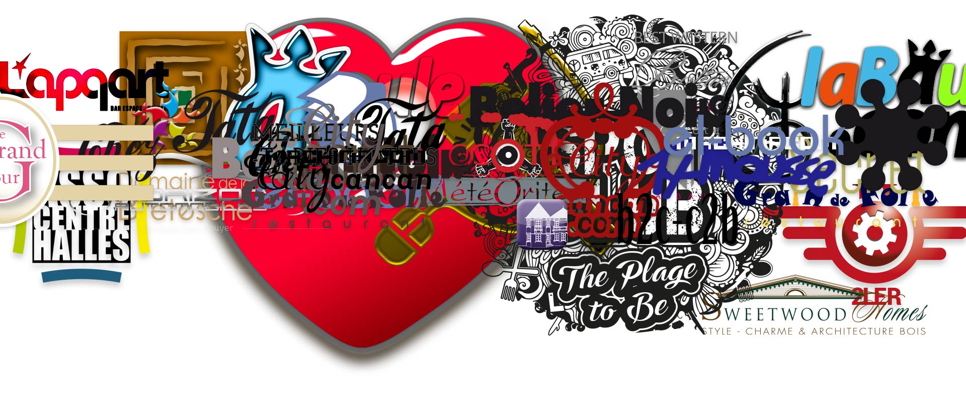 Logos et Charte graphique Digital by Paradiseisnotlost