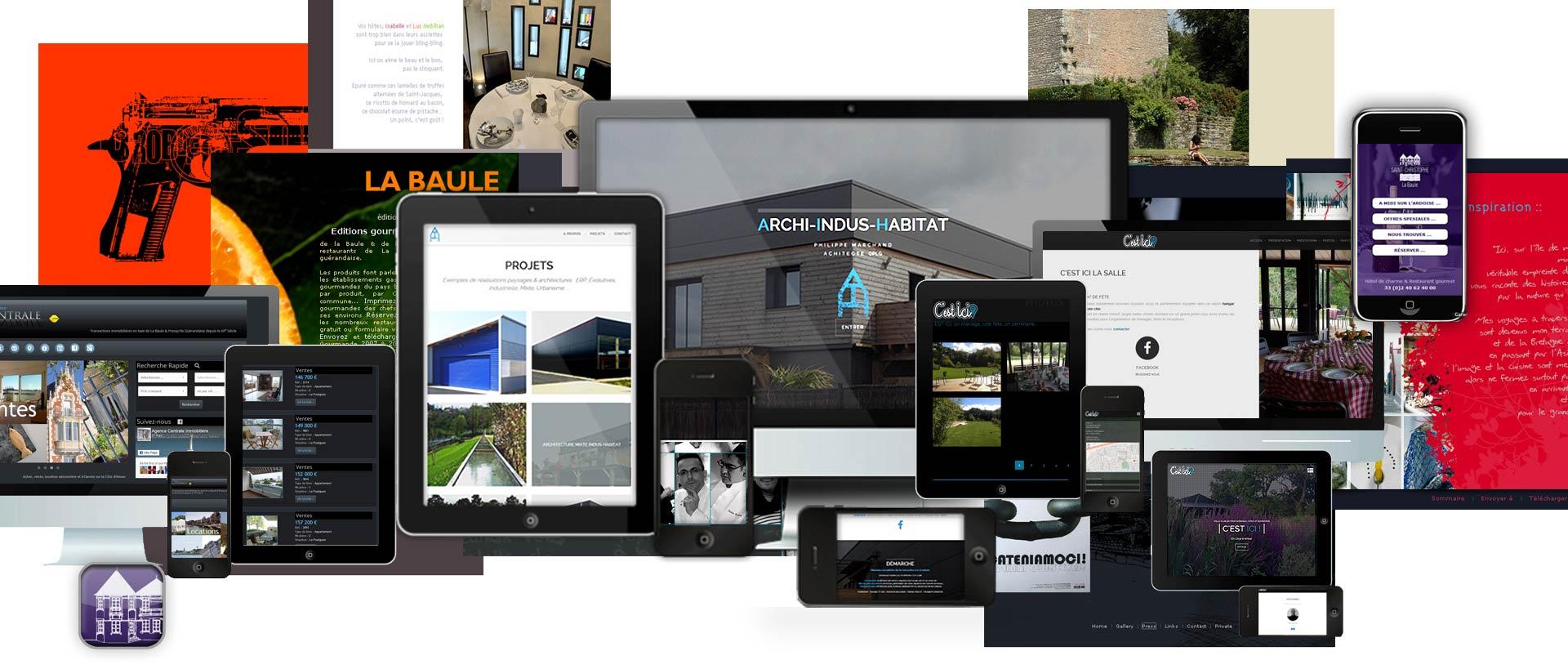 Audit, création et refonte sites Internet, plateformes CMS, eshops, événements, vitrines, webspots ...