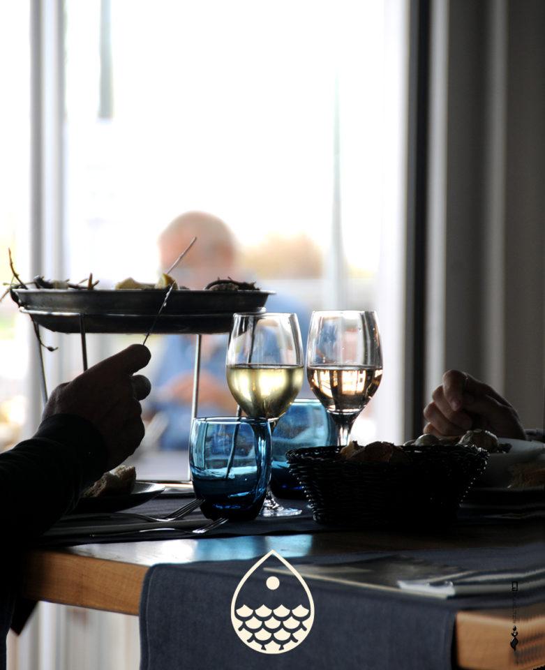 Le Café des Écailles - Restaurant fruits de mer à La Baule