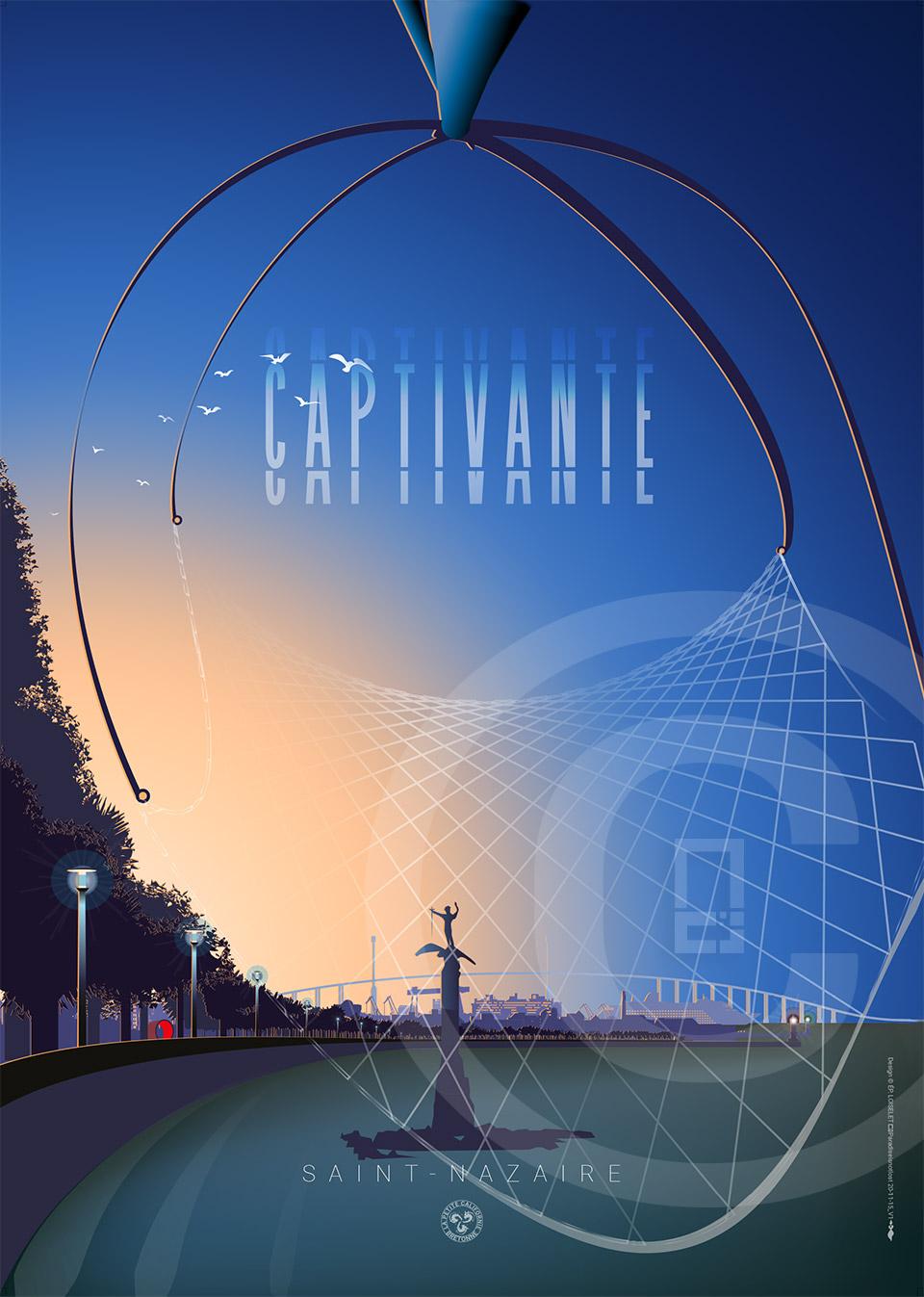 Affiche Saint-Nazaire Captivante