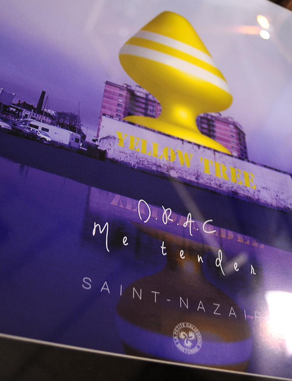Affiche encadrée Saint-Nazaire