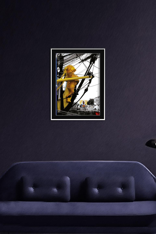 """Affiche """"EN ESCALE AU PETIT MAROC"""" Saint-Nazaire"""