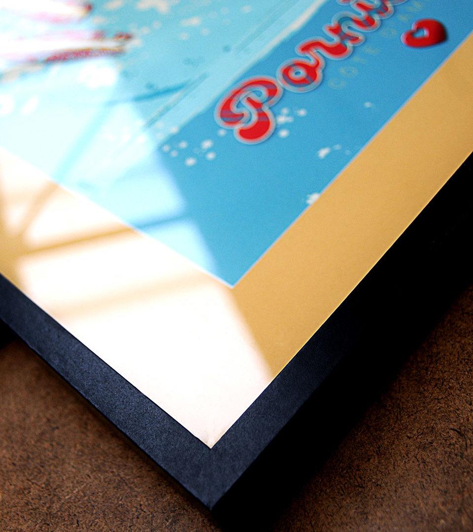 Affiche encadrée Pornichet SURFING