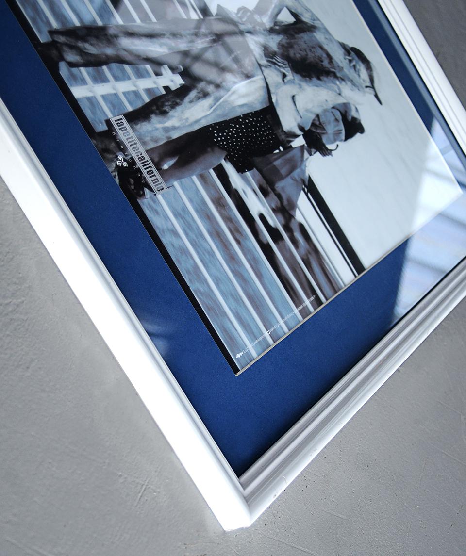 Affiche Monsireur Hulot encadrée 40x50cm