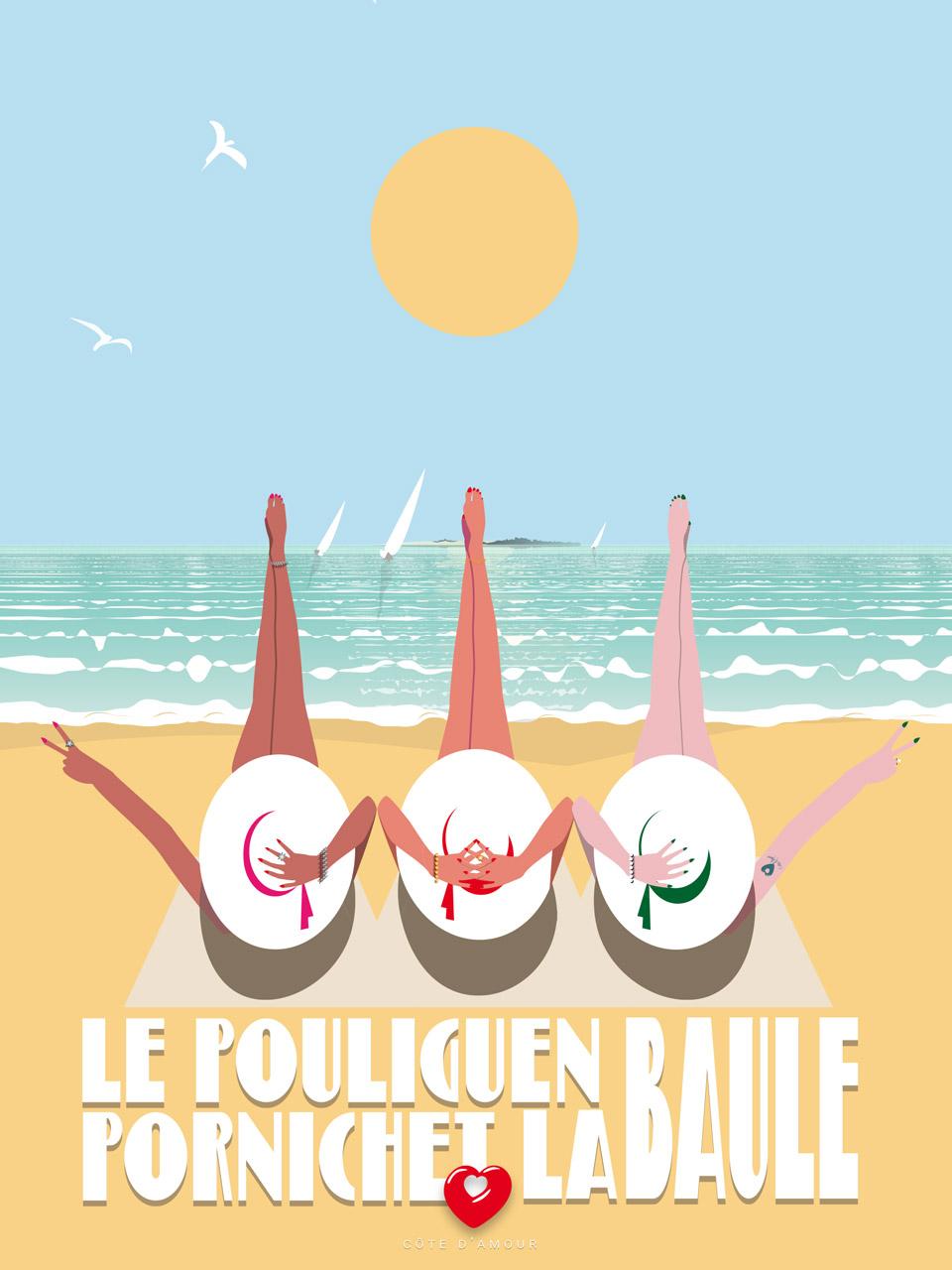Affiche Happy Bauloises 2021