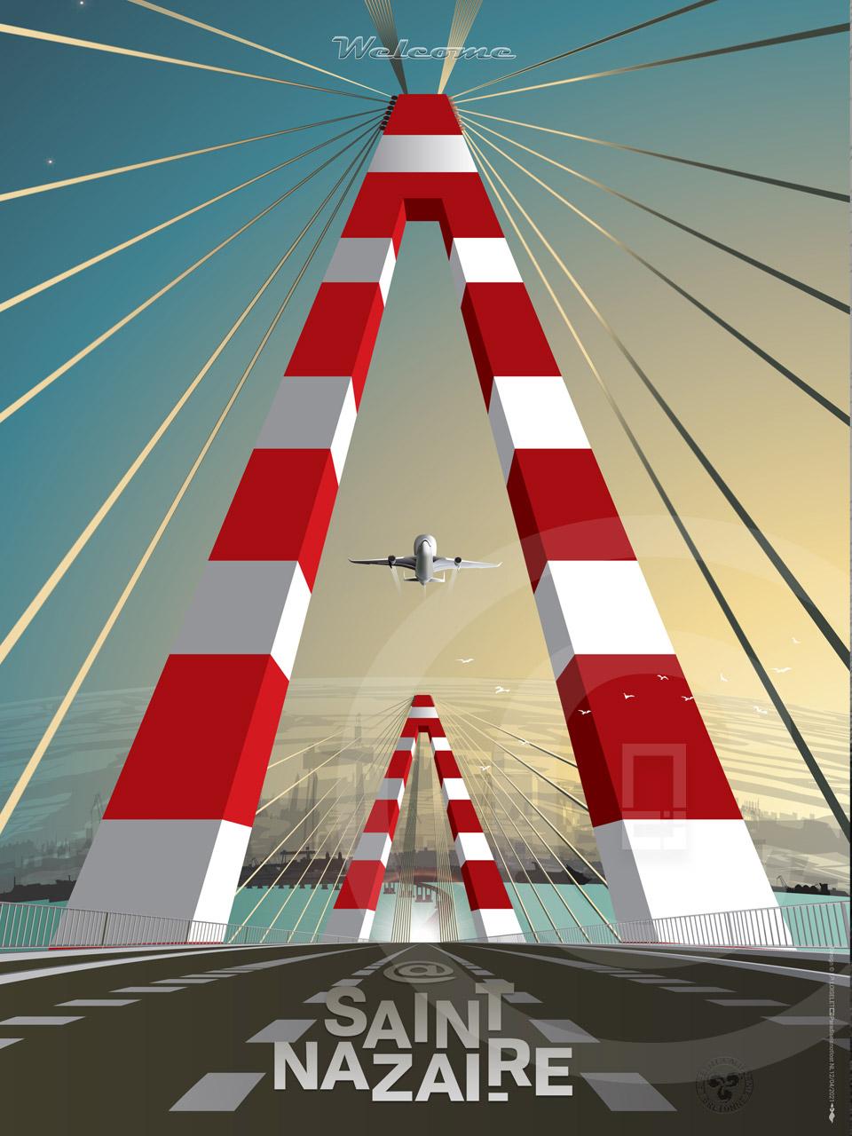 Affiche Welcome@Saint-Nazaire 2021 LE PONT