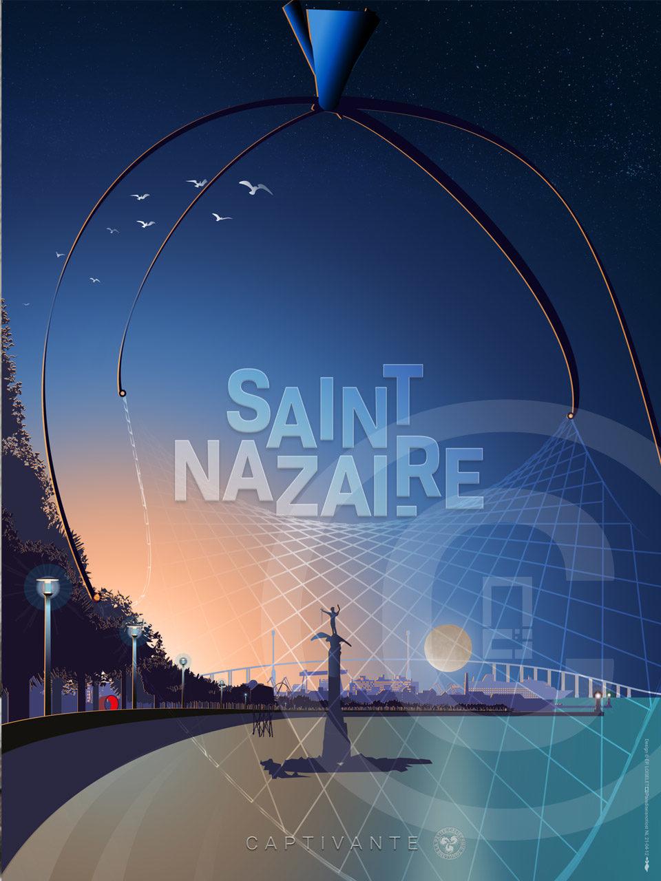 Affiche Saint-Nazaire Captivante 2021
