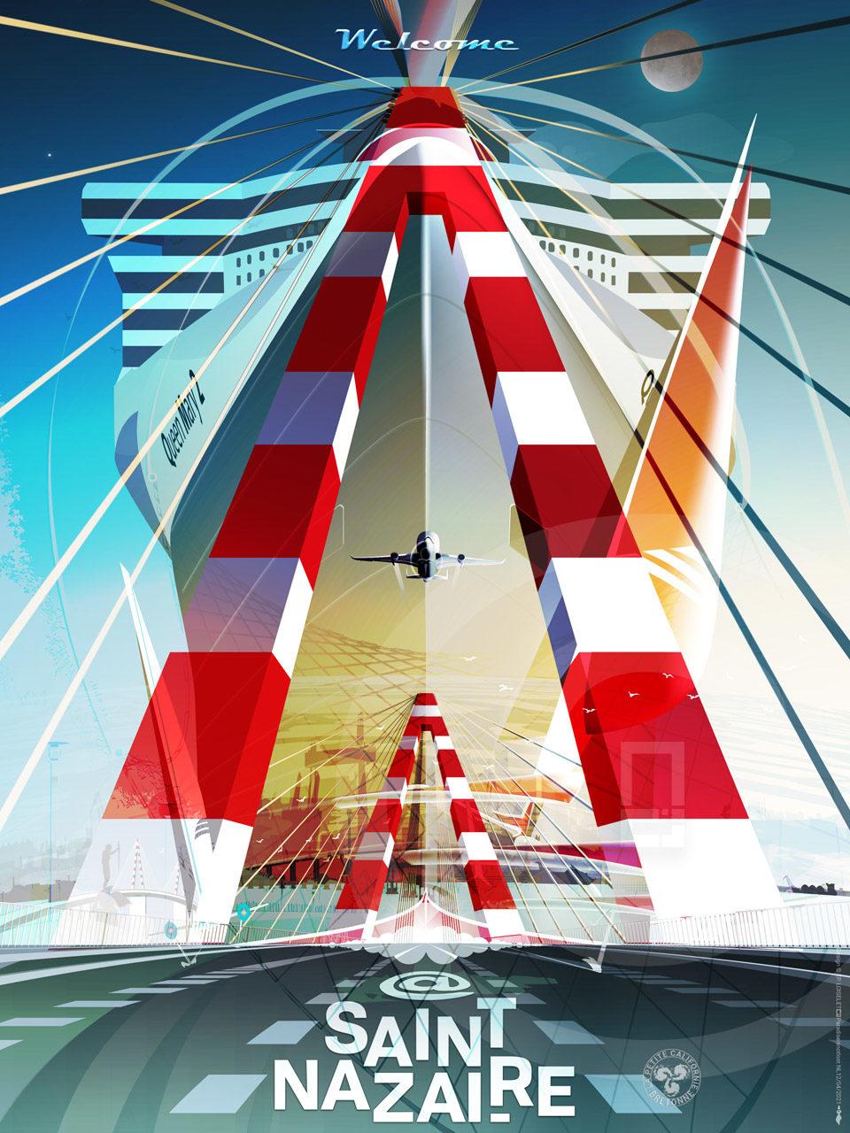 Affiche Fusion N°1 Saint-Nazaire