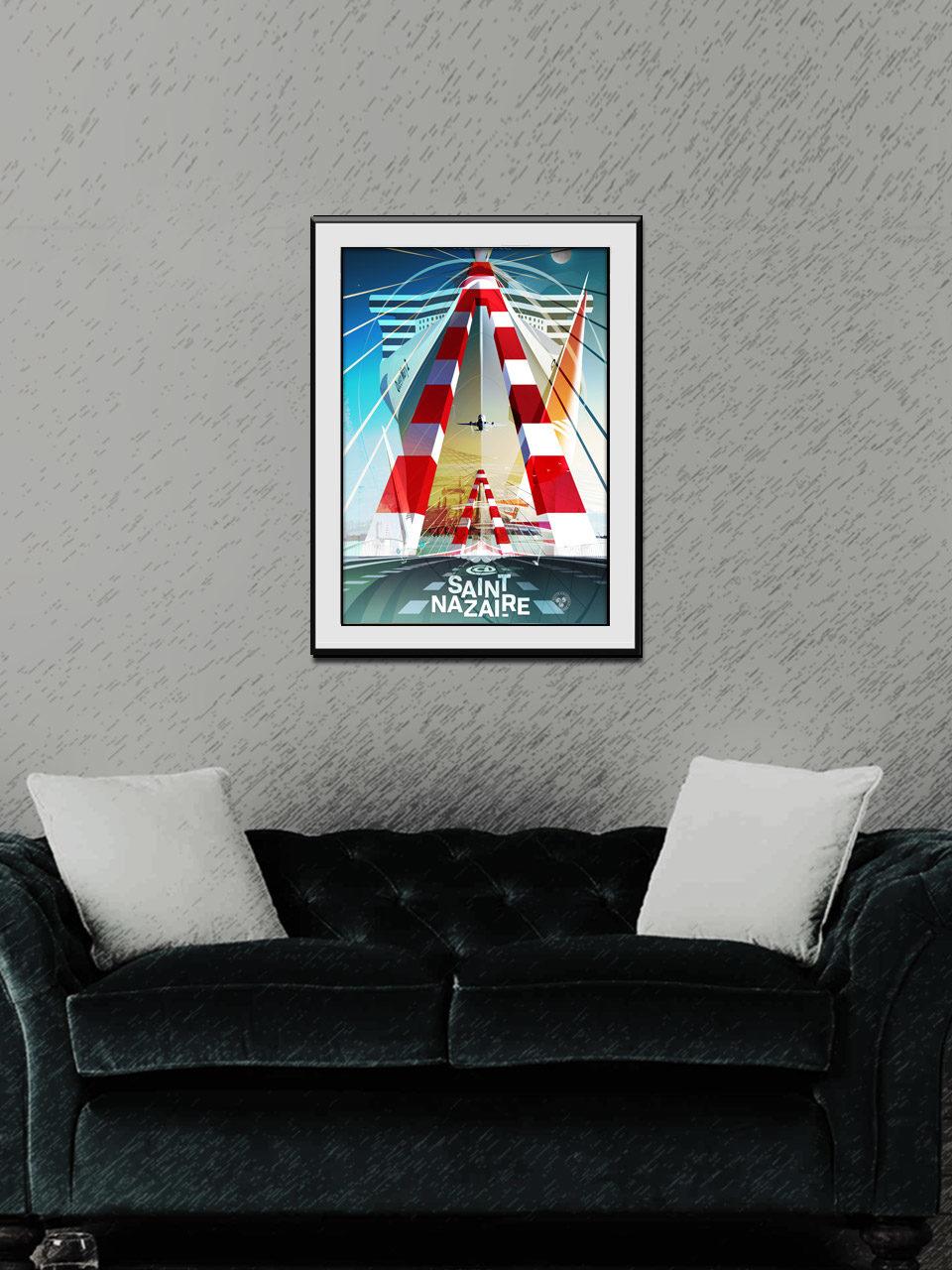 Affiche Fusion 01 Saint-Nazaire