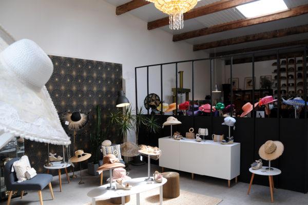 Nelly Bichet Modiste, Catherine Roncin artisan gainier et Malefic Shoes au Garage
