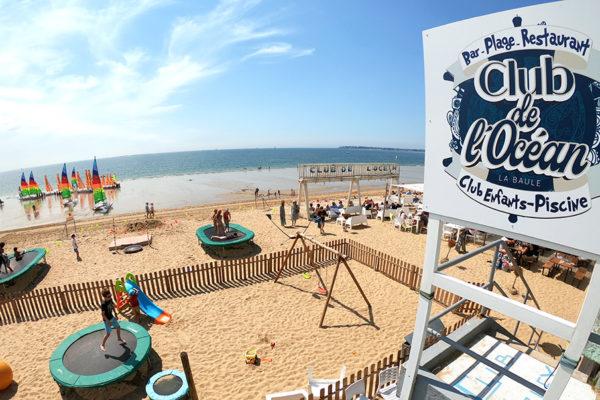 Club de l'Océan Bar de plage - Club Enfants - Restaurant de Plage - La Baule