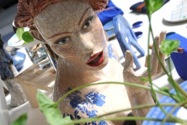 Exposition autour du bleu Klein